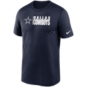 Dallas Cowboys Nike Mens Team Impact Legend Short Sleeve T-Shirt