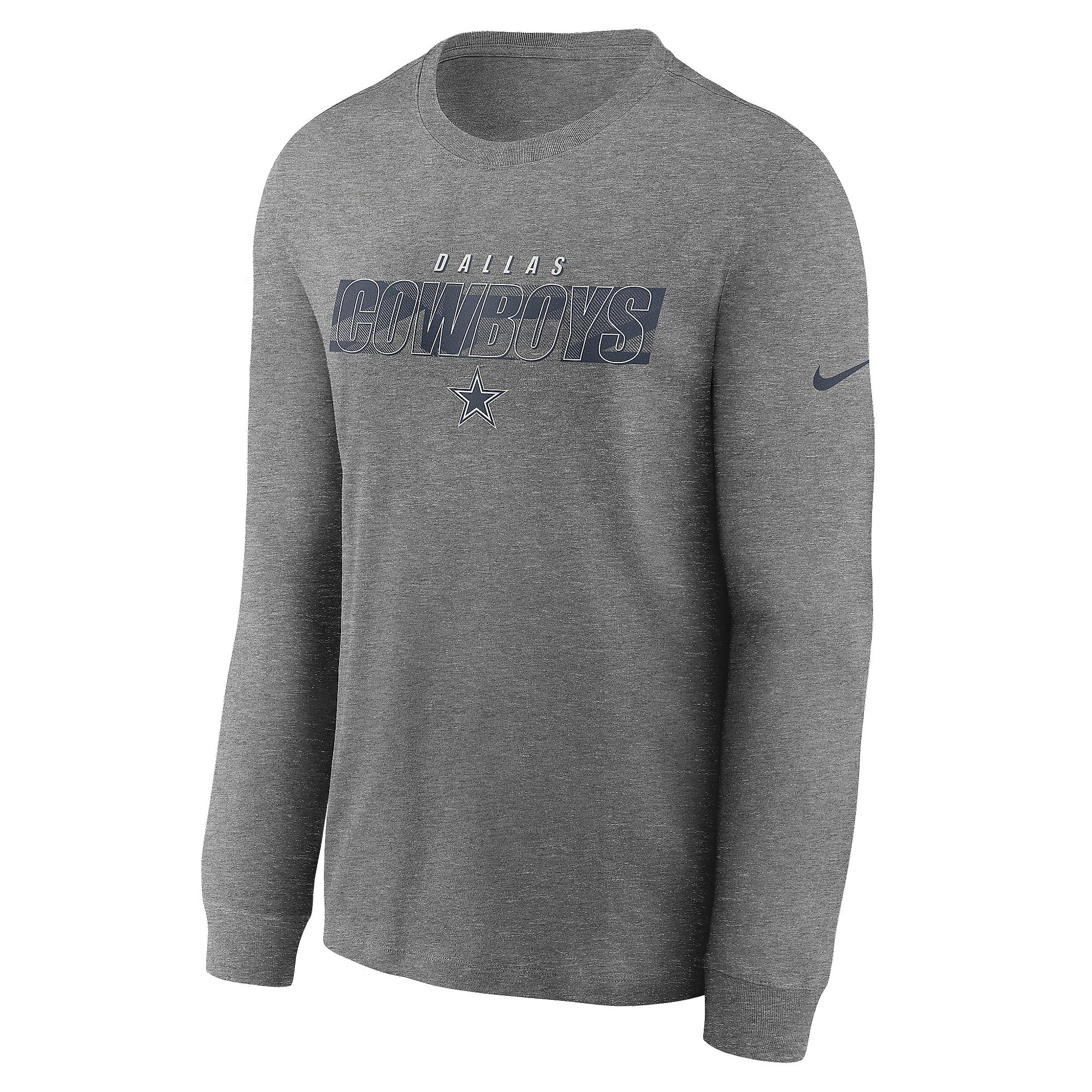 Dallas Cowboys Nike Mens Playbook Long Sleeve T-Shirt