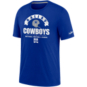 Dallas Cowboys Nike Mens Historic Tri-Blend Short Sleeve T-Shirt