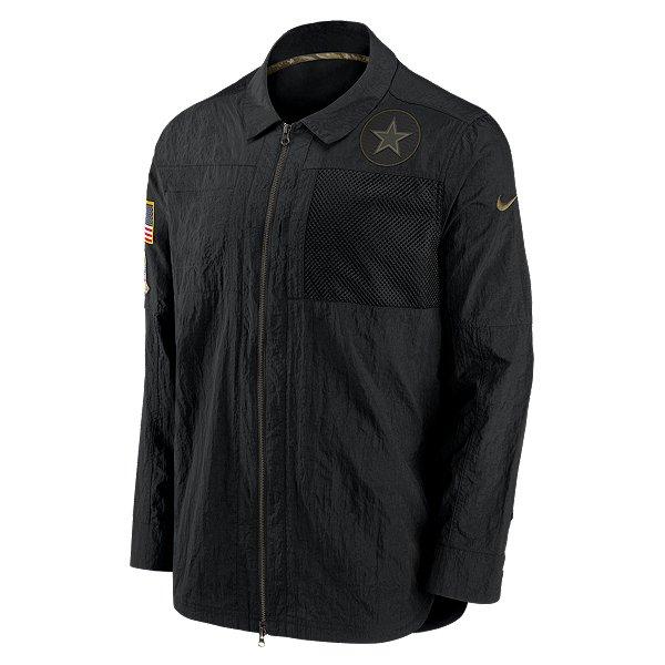 Dallas Cowboys Nike Salute to Service Mens Team Logo Full-Zip Jacket