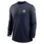 Dallas Cowboys Nike Dri-FIT Mens Team Logo Crew Shirt