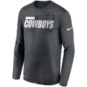 Dallas Cowboys Nike Mens Team Name Legend Sideline Long Sleeve T-Shirt
