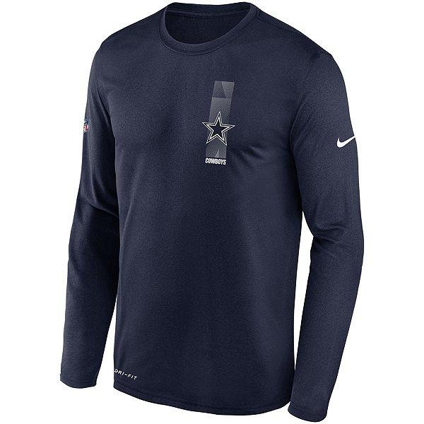Dallas Cowboys Nike Mens Playbook Team Logo Long Sleeve T-Shirt