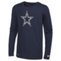 Dallas Cowboys New Era Mens Dri-Tek Stadium Logo Long Sleeve T-Shirt