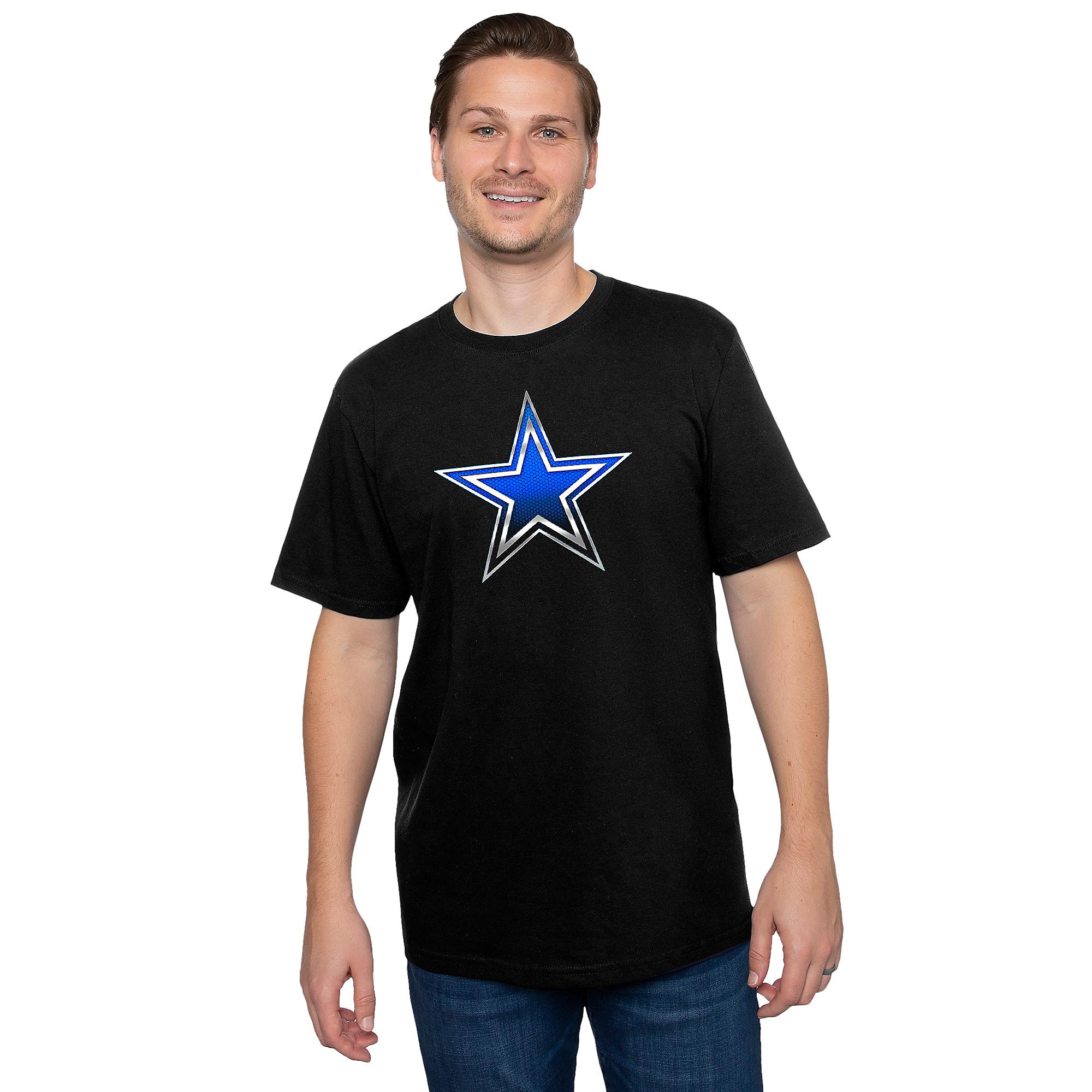 Dallas Cowboys Mens Keen Star Short Sleeve T-Shirt