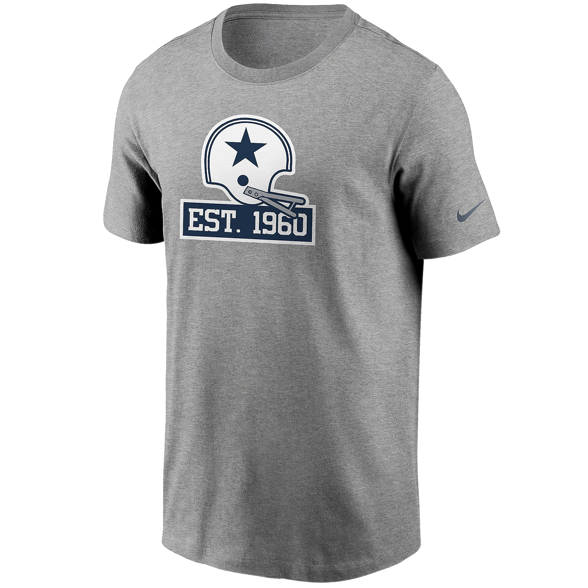 Dallas Cowboys Nike 1960 Mens Flag Short Sleeve T-Shirt