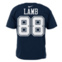 Dallas Cowboys CeeDee Lamb #88 Nike Name & Number T-Shirt