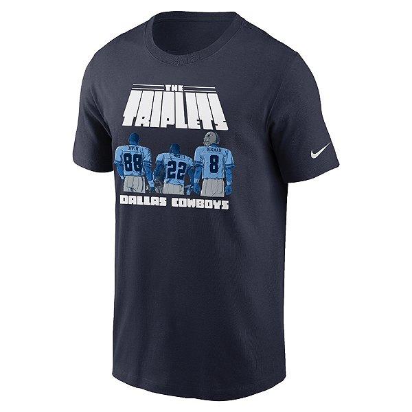Dallas Cowboys Nike Mens Triplets Short Sleeve T-Shirt