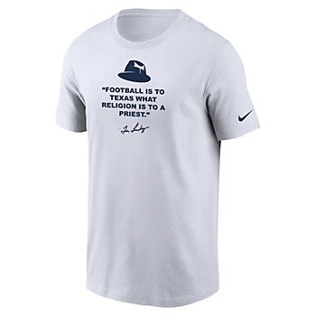 Dallas Cowboys Nike Mens Landry Hat Short Sleeve T-Shirt