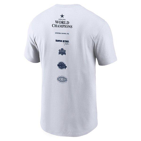 Dallas Cowboys Nike Mens Super Bowl Wins Short Sleeve T-Shirt