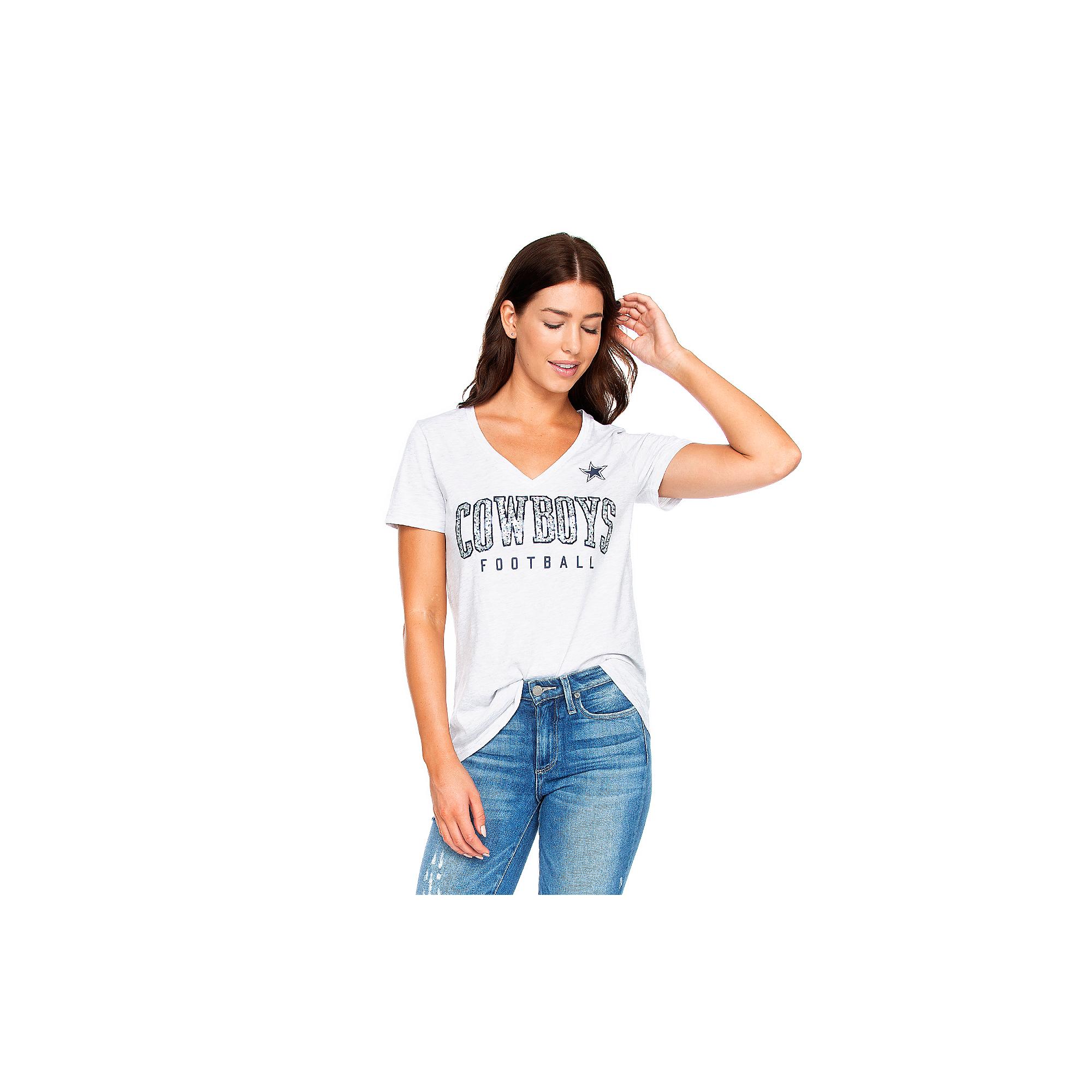 Dallas Cowboys Womens Kaia Short Sleeve T-Shirt