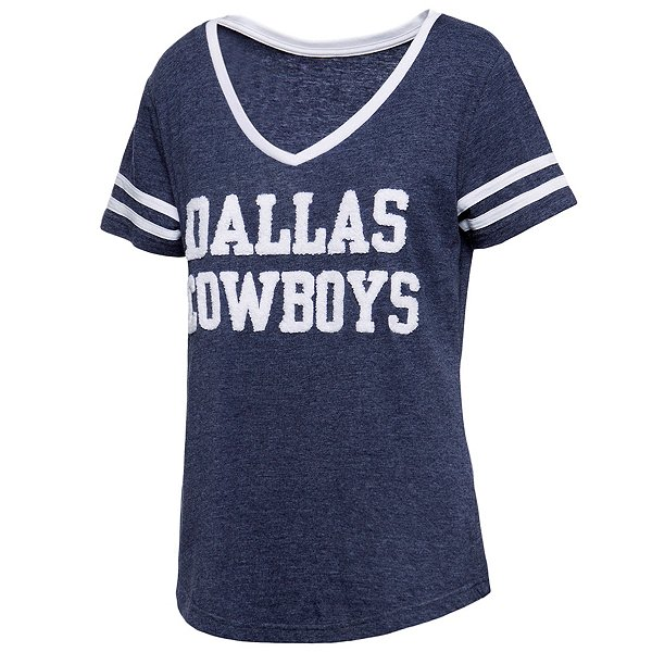 Dallas Cowboys Womens Rosie Short Sleeve T-Shirt