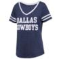 Dallas Cowboys Womens Rosie Short Sleeve T-Shirt