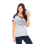 Dallas Cowboys Womens Curetta Short Sleeve T-Shirt