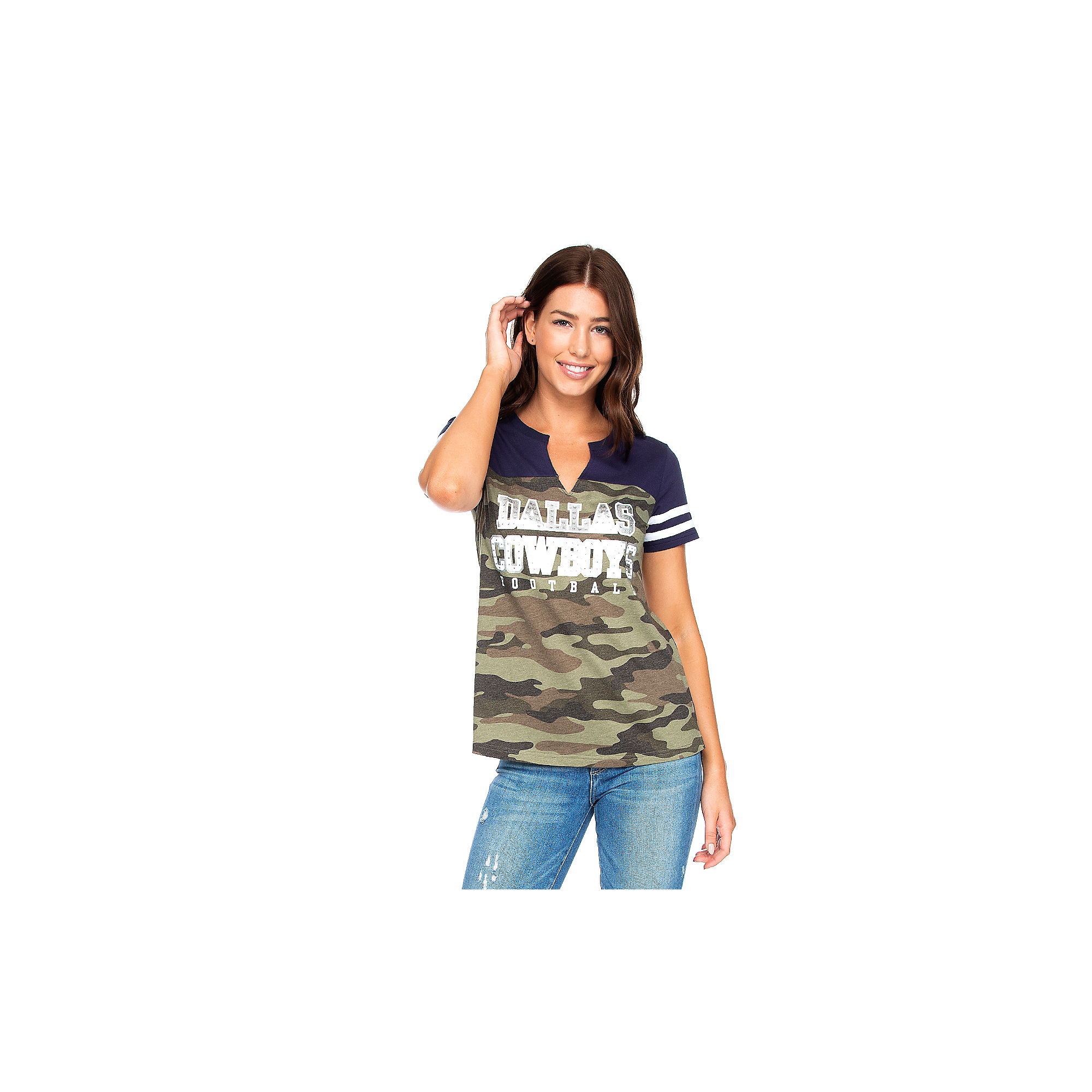 Dallas Cowboys Womens Simone Short Sleeve T-Shirt
