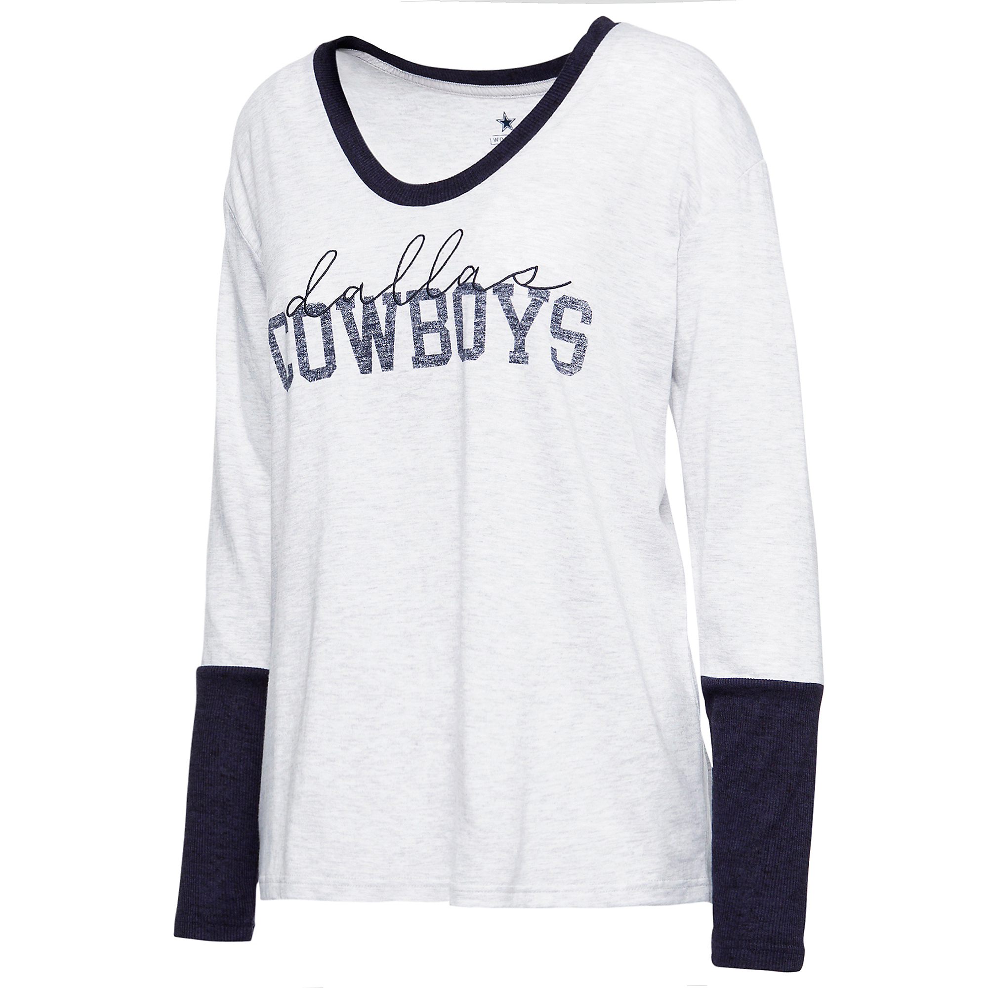 Dallas Cowboys Womens Eleanor Long Sleeve T-Shirt
