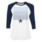 Dallas Cowboys Womens Hailey 3/4 Sleeve T-Shirt