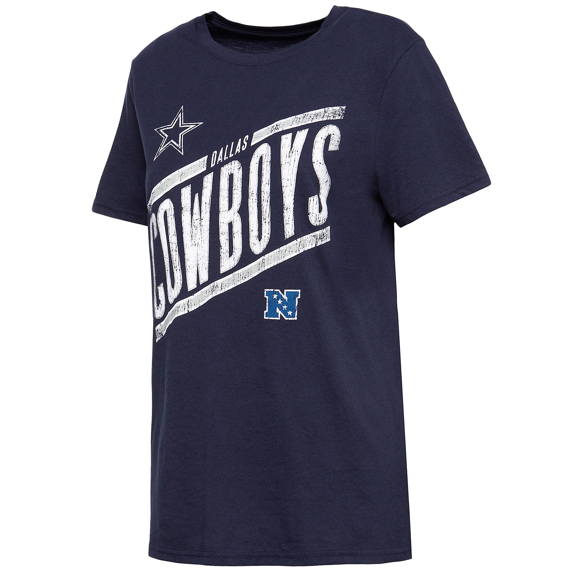 Dallas Cowboys Womens Harwood NFC Short Sleeve T-Shirt