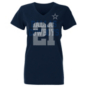 Dallas Cowboys Womens Ezekiel Elliott #21 Ashlee Short Sleeve T-Shirt