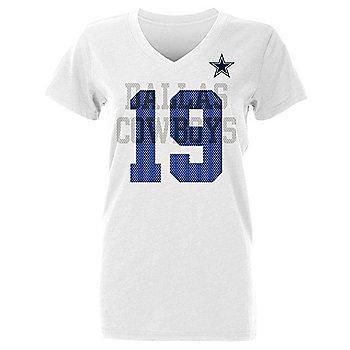 Dallas Cowboys Womens Amari Cooper #19 Ashlee Short Sleeve T-Shirt