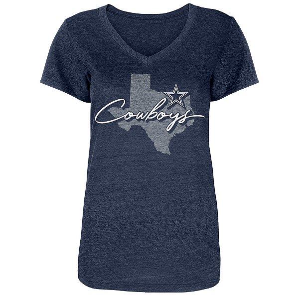 Dallas Cowboys Womens Tisa Short Sleeve T-Shirt