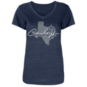 Dallas Cowboys Womens Tisa Short Sleeve T-Shirt