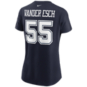 Dallas Cowboys Womens Leighton Vander Esch #55 Nike Name & Number T-Shirt