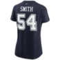 Dallas Cowboys Womens Jaylon Smith #54 Nike Name & Number T-Shirt