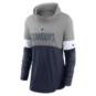 Dallas Cowboys Nike Womens Light Impact Lock Up Cowl Neck Fashion Shirt