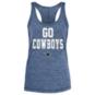Dallas Cowboys New Era Womens Space Dye Racerback Tank