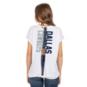 Dallas Cowboys New Era Womens Split Tie Back T-Shirt