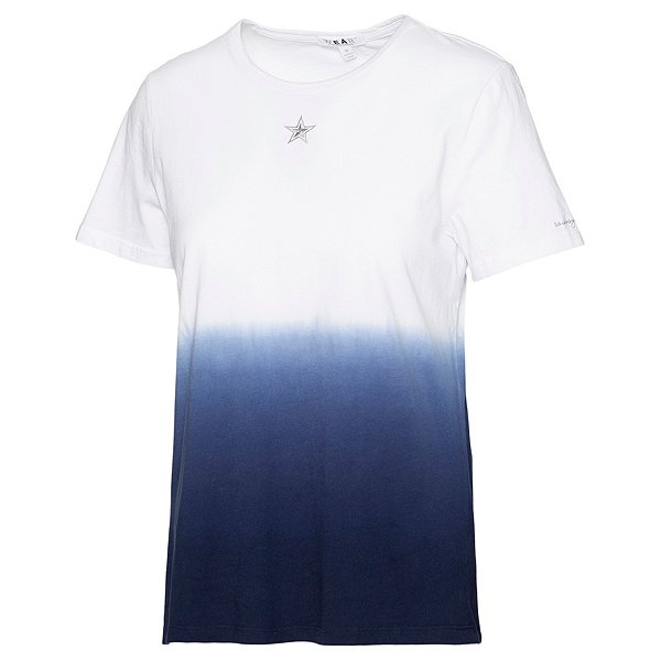 Dallas Cowboys WEAR By Erin Andrews Womens Dip Dye Short Sleeve T-Shirt
