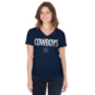 Dallas Cowboys Womens Brilliant Short Sleeve T-Shirt