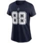 Dallas Cowboys Womens CeeDee Lamb #88 Nike Name & Number T-Shirt