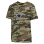 Dallas Cowboys Youth Rodeo Short Sleeve T-Shirt