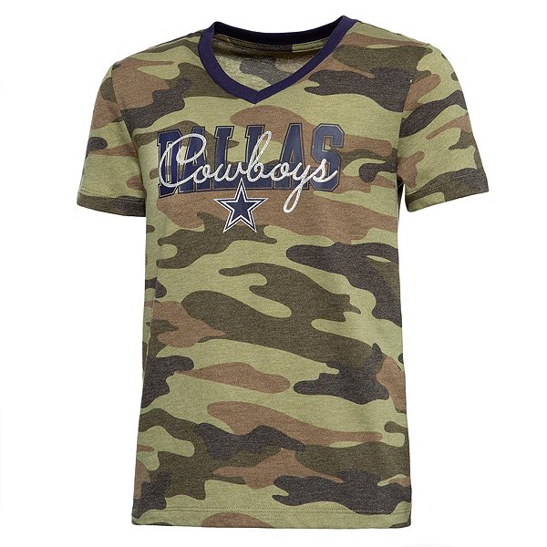 Dallas Cowboys Girls Kendall Short Sleeve T-Shirt