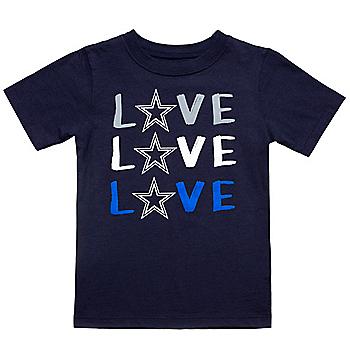 Dallas Cowboys Infant Britney Short Sleeve T-Shirt