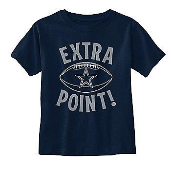 Dallas Cowboys Toddler Freddy Short Sleeve T-Shirt
