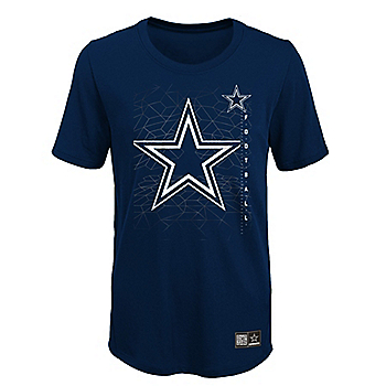 Dallas Cowboys Youth Ignition Short Sleeve T-Shirt