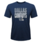 Dallas Cowboys Youth Stack The Deck Short Sleeve T-Shirt