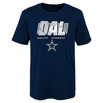 Dallas Cowboys Youth Storm Short Sleeve T-Shirt