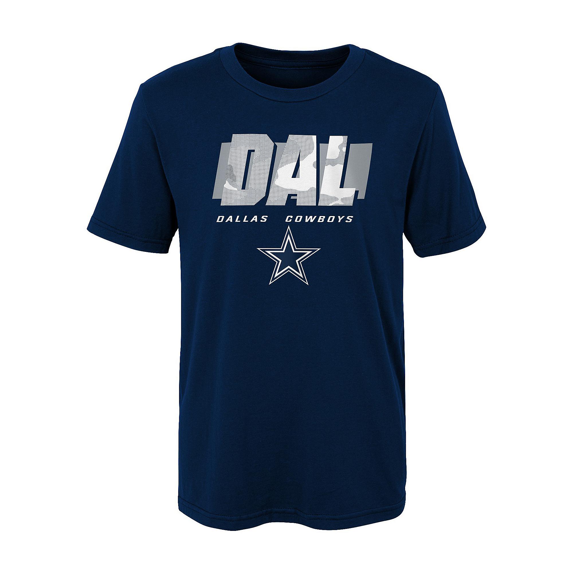 Dallas Cowboys Youth Storm Short Sleeve T-Shirt