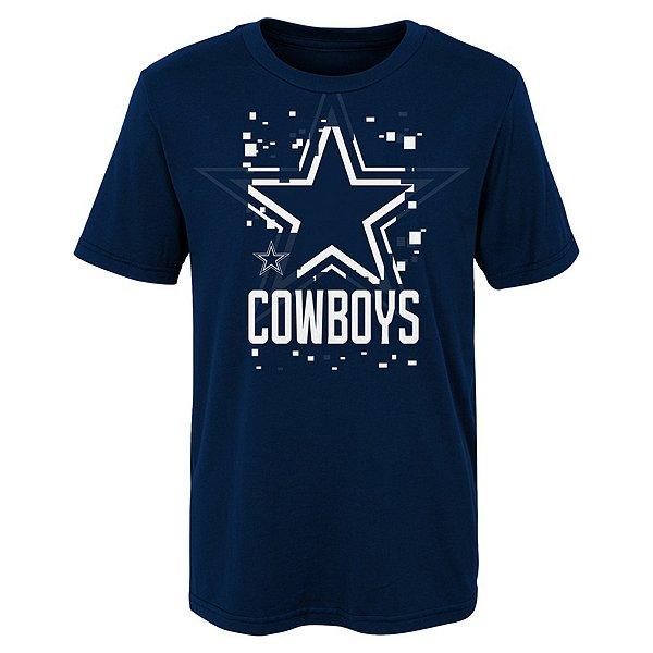 Dallas Cowboys Kids Zoom Short Sleeve T-Shirt