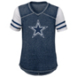 Dallas Cowboys Girls Team Spirit Football T-Shirt