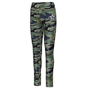 Dallas Cowboys Juniors Camouflage Legging