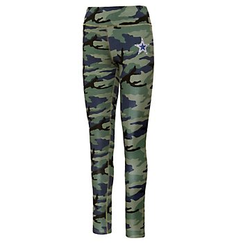 Dallas Cowboys Juniors Camouflage Legging