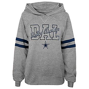 Dallas Cowboys Juniors Sideline Hooded Raglan Shirt