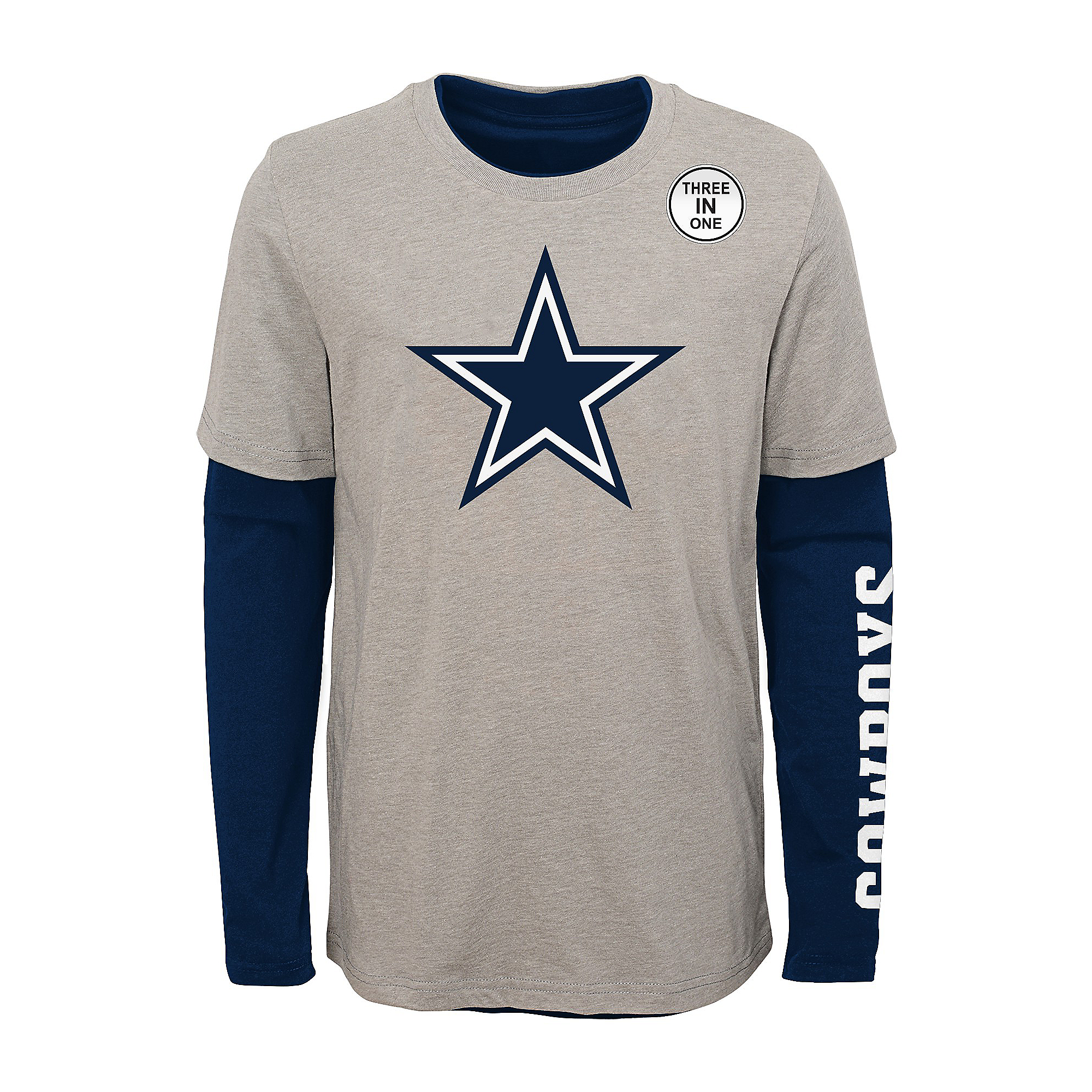 Dallas Cowboys Kids Goal Line Stated 3-in-1 Combo T-Shirt