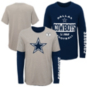 Dallas Cowboys Youth Goal Line Stated 3-in-1 Combo T-Shirt