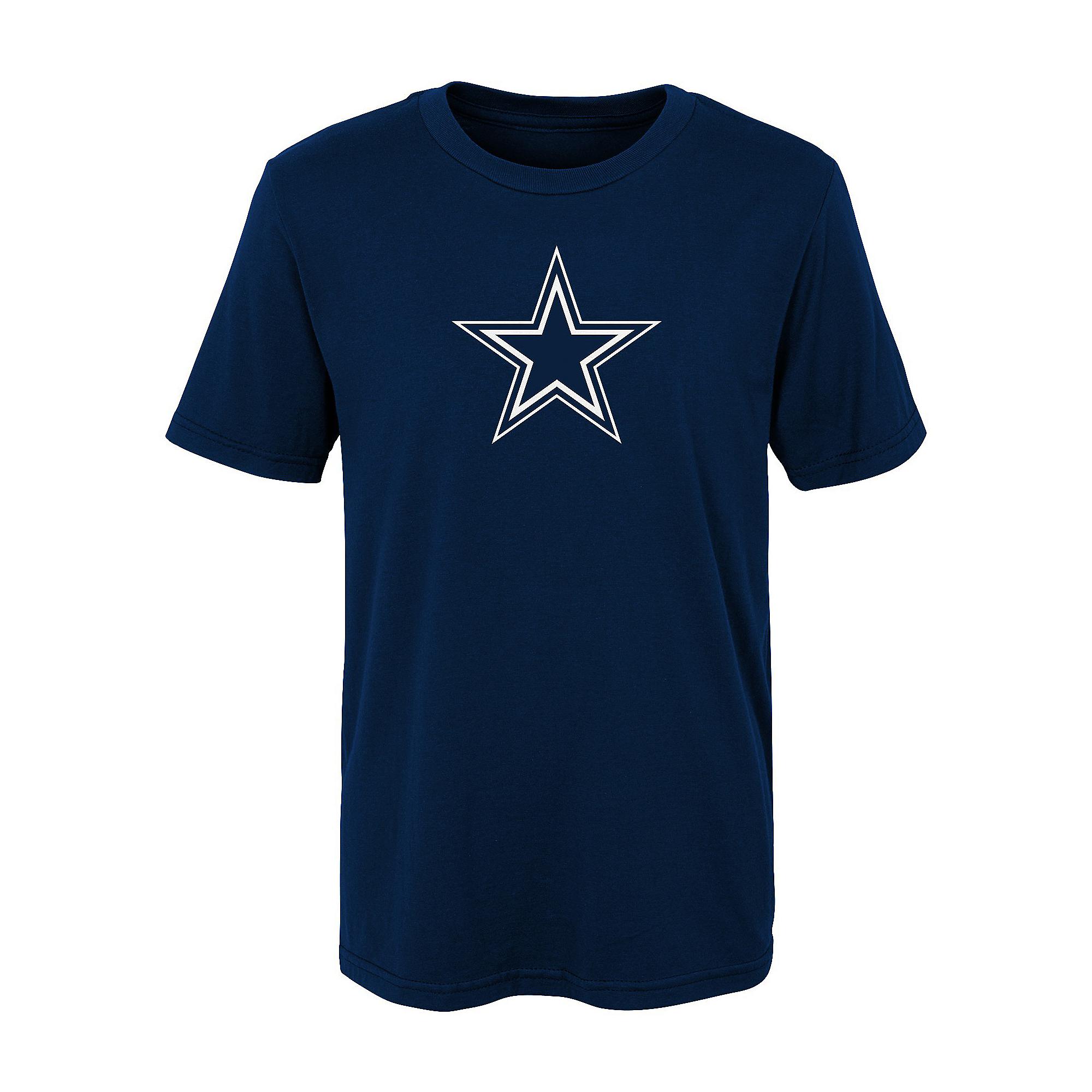 Dallas Cowboys Kids Primary Logo Short Sleeve T-Shirt